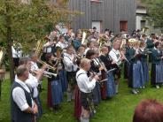 50 Jahre Musikverein Binswangen: Leise ist es woanders