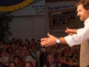 50 Jahre Musikverein Binswangen: Winfried Frey sorgt für die Lacher