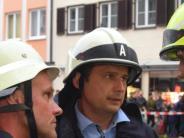 """Rathausbrand Dillingen: Zwei Wochen danach: Oberbürgermeister Frank Kunz im Interview: """"Wir bekommen das hin"""""""
