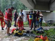 Polizei: Unglück an der Donau