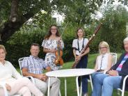 Aktion des Rotary-Clubs Dillingen: Junge Musikerinnen in besonderer Mission