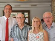 Dank: SPD ehrt Theo Hungbaur für Verdienste