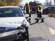 Unfall bei Binswangen: Schon wieder kracht es an der Abzweigung nach Höchstädt