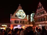 10. Wertinger Nacht im Zeichen von Las...: Tausende strömen durch die Zusamstadt
