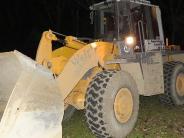 Zusamaltheim: Radlader verletzt Schülerlotsen