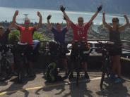 Villenbach: Von Zusamtal zum Gardasee geradelt