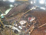Finningen: Autofahrerin lebensgefährlich verletzt