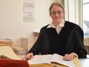 Justiz: Mit 26 Jahren oben am Richtertisch