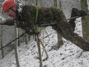 Wertingen: Wetter macht dem Wintermarsch alle Ehre