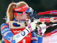 Probleme mit der Wade: Medienbericht: Olympia-Aus für Biathlon-Star Koukalova
