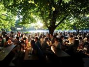 Wetter in Bayern: Endlich Sommer: Ansturm auf Freibäder und Biergärten