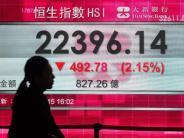 Finanzmarkt: Weshalb China den Dax in die Tiefe zieht