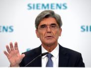 Elektro: Siemens-Chef legt Quartalsbilanz vor