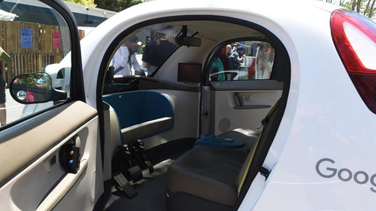 Google Car Googles Selbstfahrende Autos Erkennen