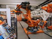 Augsburg: Bei Kuka steht ein Teil der Produktion still