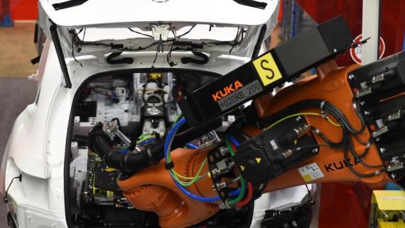 Augsburg: Weiter volle Auftragsbücher bei Roboterbauer Kuka