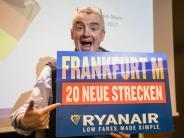 Expansion durch Gebührenrabatt: Ryanair bringt fünf neue Flugzeuge nach Frankfurt