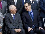 IWF-Frühjahrstagung: US-Finanzminister: Deutschland muss Exportüberschuss abbauen