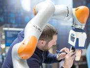 Industrie: Wenn Mensch und Roboter zusammenarbeiten