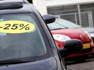 Hersteller: Studie: Rabattschlacht der Autobauer nur leicht abgeschwächt