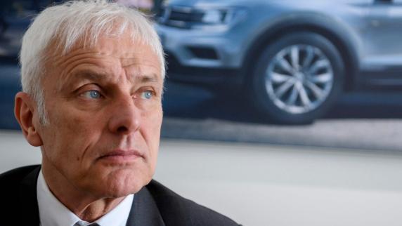 Diesel-Skandal: Ermittlungen gegen VW-Chef Müller