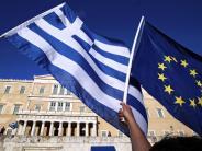 Treffen der Eurogruppe: Berlin und Paris zuversichtlich zu Griechenland-Hilfen