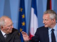 Tempo mit Vorschlägen: Deutschland und Frankreich wollen Eurozone stärken