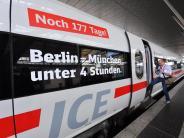 Kommentar: Die Bahn wird immer schneller - aber nicht für alle Bayern