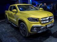 Nischenmarkt: Daimler hofft mit dem Pick-up auf den Lifestyle-Trend