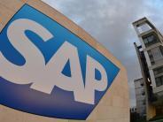 Gewinn sinkt: SAP hebt Ausblick nach starkem Quartal an