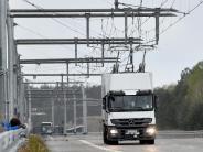 Wachsender Güterverkehr: Praxistest von Strom-Lkw ab Ende 2018 in Hessen