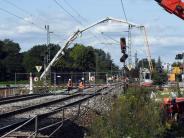 Notkonzept: Rheintalbahn soll am 7. Oktober wieder freigegeben werden