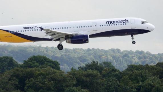 Britische Airline Monarch stellt überraschend den Betrieb ein