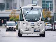 Busfahrermangel: Fraport testet Roboter-Shuttles am FrankfurterFlughafen