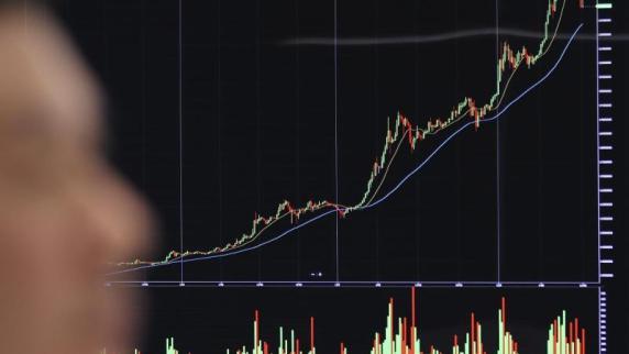 Bitcoin stieg nach Start des ersten Terminkontrakts an Börse