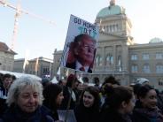 Weltwirtschaftsforum: Jubel und Protest über Trumps Auftritt in Davos