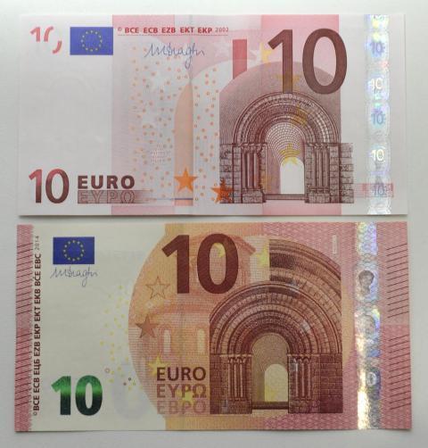 geld ab heute gibt es den neuen zehn euro schein wirtschaft aktuelle wirtschafts und. Black Bedroom Furniture Sets. Home Design Ideas