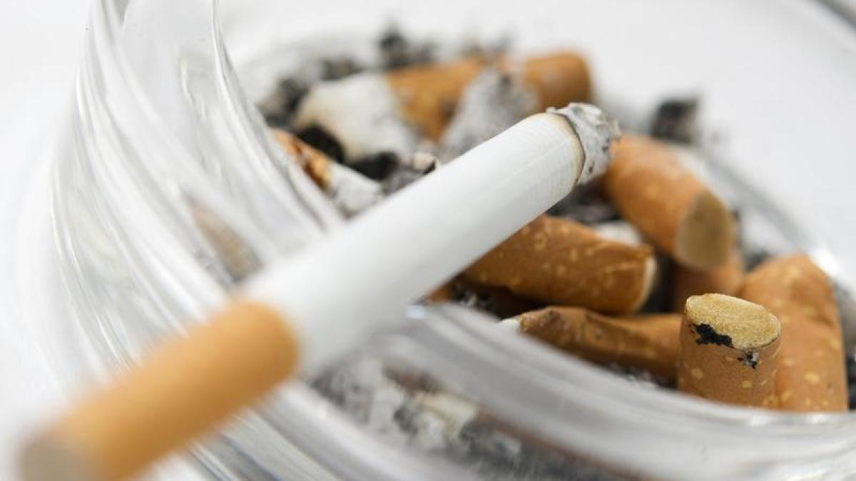 Der Star hat Rauchen aufgegeben