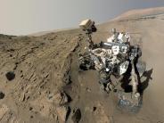Raumfahrt: Marsrover «Curiosity»sucht sich Laser-Ziele jetzt selbst aus