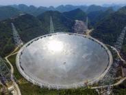 Astronomie: China sucht mit weltgrößtem Radioteleskop nach Leben im All