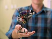 Sprunghafter Zwerg: Roboter schafft meterhohe Sätze in rascher Folge