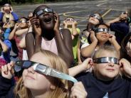 Naturschauspiel: Totale Sofi in den USA: Millionen warten gespannt